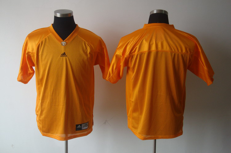 NCAA Tennessee Volunteers blank Orange Football Jersey