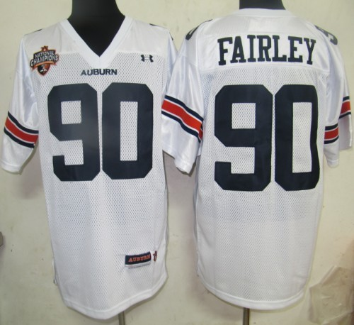 2011 NCAA jerseys Under Armour South 90 Fairley White