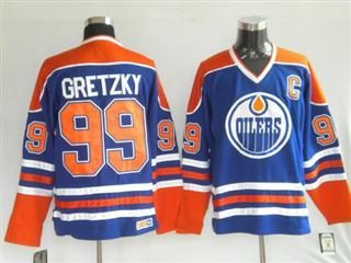 Edmonton Oilers 99 Gretzky Blue Jersey