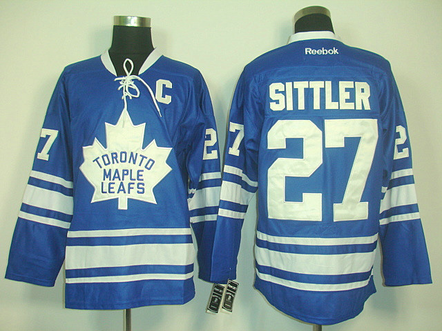 Toronto Maple Leafs 27 Sittler new BLUE