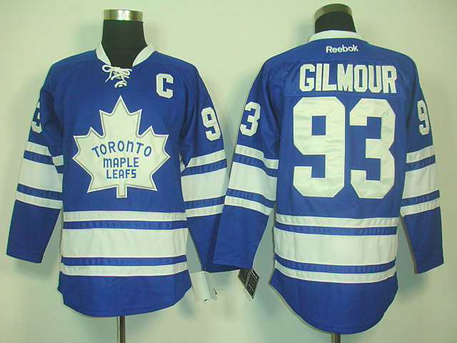 Toronto Maple Leafs 93 Gilmour BLUE.