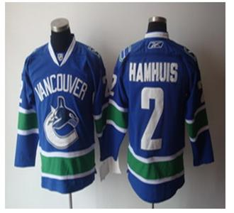 vancouver canucks 2 dan hamhuis blue jerseys
